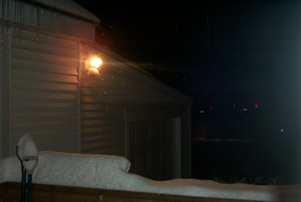 Second night of the storm